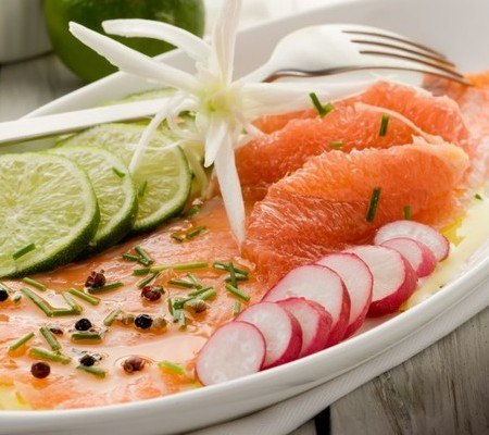 Salmon Carpaccio: wines to drink with it